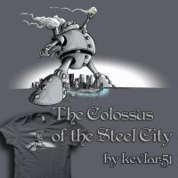 The Colossus of the Steel City by kevlar51