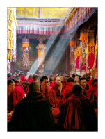 Drepung Assembly by HappyMartin