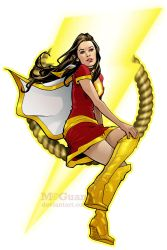 Mary Marvel by mcguan