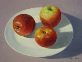 Apples in Oil by yeji522