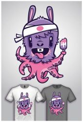 Cute Monster Tee Design 2 by cronobreaker