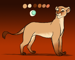 Exotic lioness adopt: CLOSED by Zandwine
