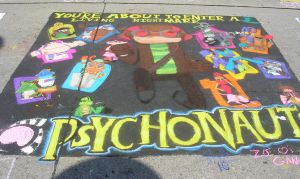 Chalkwalk '10: Psychonauts by midnight-fang