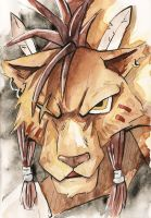 Red XIII by Kami-Warp-zone