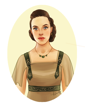 Lady Sybil by kimpertinent