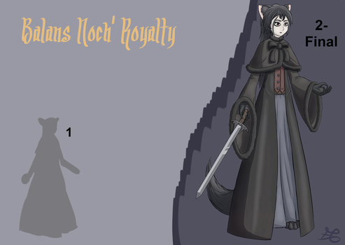 Balans Noch'Royalty - Character Concept by edefergio