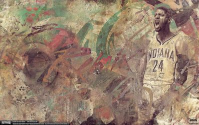 Paul George Remix Wallpaper by IshaanMishra