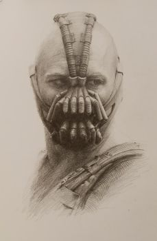 Bane: A Pencil Study by vee209