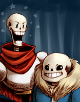 these skeletons by Magdaneela