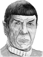 Mr Spock by B-Richards