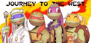 JOURNEY TO THE WEST TMNT by oharu0863