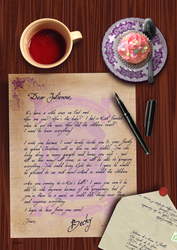 A Letter For Julienne by SweetLittleVampire