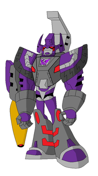 TFA galvatron by Armbullet