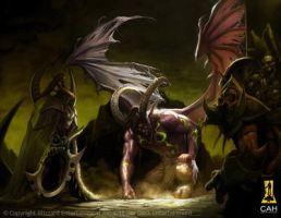 The Fall of the Betrayer by Concept-Art-House