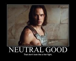 Neutral Good John Carter by 4thehorde