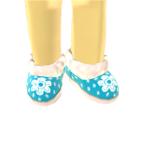 Snowflake Shoes by Rosemoji