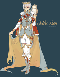 Golden Scar Prince Auction: { CLOSED } by WanyaaGoAdopts
