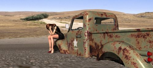 Lost in the desert1 by builder1956