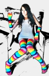 Color girl 1 by ESLB-Photography