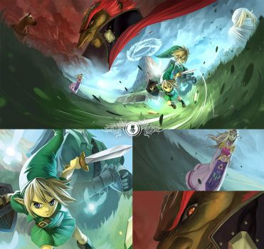 Zelda: Ocarina of Time by Coliandre