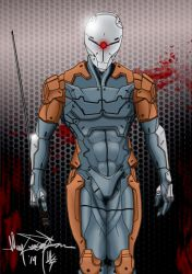 I am like you...I have no name - Gray Fox by BlitzJaeger
