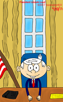 President Lincoln Loud by SmartCookieMan756