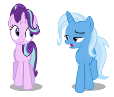Starlight and Trixie by Hendro107