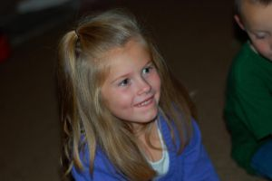 Sean's sister. She's 5. cx by ChocolateThunderO-o