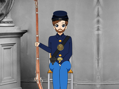 James Matthias (Union Soldier) by Legodecalsmaker961
