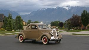 Our 1935 Ford V8 by LilScreamer29