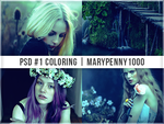 PSD#1 - SPRING TAKES OVER - MARYPENNY1000 by MaryPenny1000