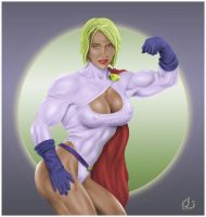 Powerfull Powergirl by yatz