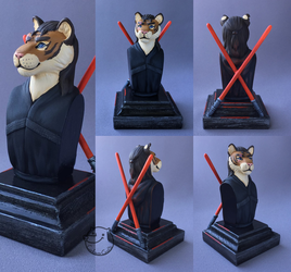 come to the striped side [bust] by CadaverCrafts