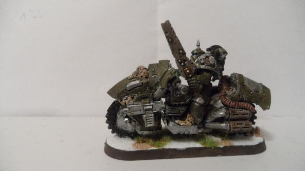 Nurgle Chaos biker  picture 1 by Dible