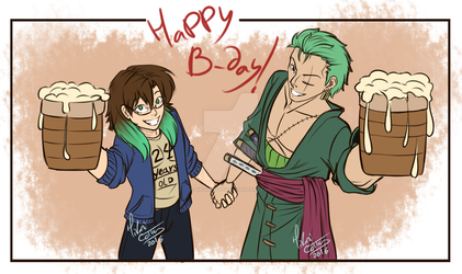 Our B-day Present by HikariCotta