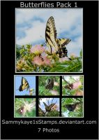 Butterflies Pack 1 by Sammykaye1sStamps