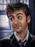 David Tennant - Doctor Who by Cornally