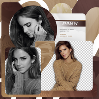 Png Pack 657 // Emma Watson by confidentpngs