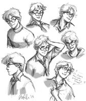 The Many Faces of James Potter by IzziBelle