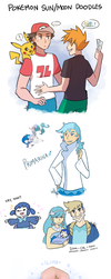 Pokemon: Sun+Moon Doodles by ky-nim