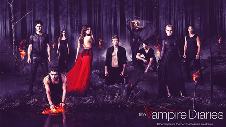 The Vampire Diaries S5 Wallpaper by beacdc