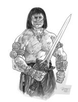 Conan Of Cimmeria by brentb9702