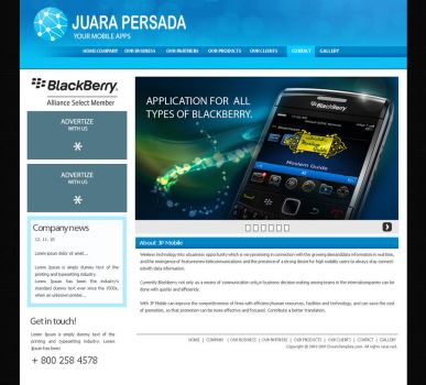 Juara persada websitew by pramudya
