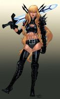 Magik - Timothy Brown colors by SpiderGuile