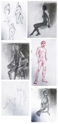 life drawings stuff 2 by FerioWind
