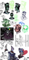 many many cog drawings by deathtousernames
