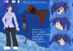 Shady Moonwalker - charater sheet by Do-omed-Moon
