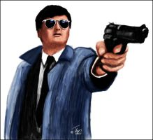 Chow Yun Fat by Thijs-doet-wijs