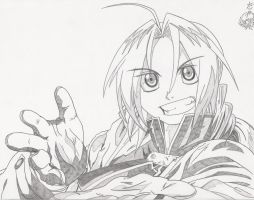 Edward Elric by DayaEternityRose