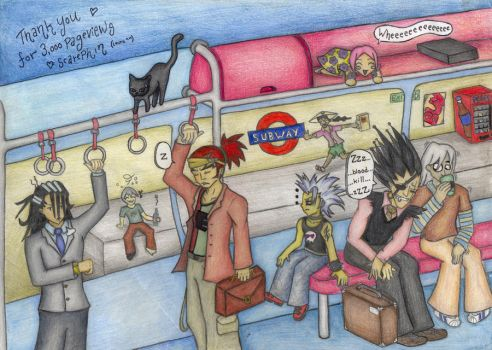 Bleach: Commuting is a pain by ScarePhin
